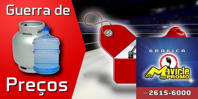 Guerra de Preços   Revendas de água e gás   Academia do Distribuidor   Imã de geladeira e Gráfica Mavicle Promo