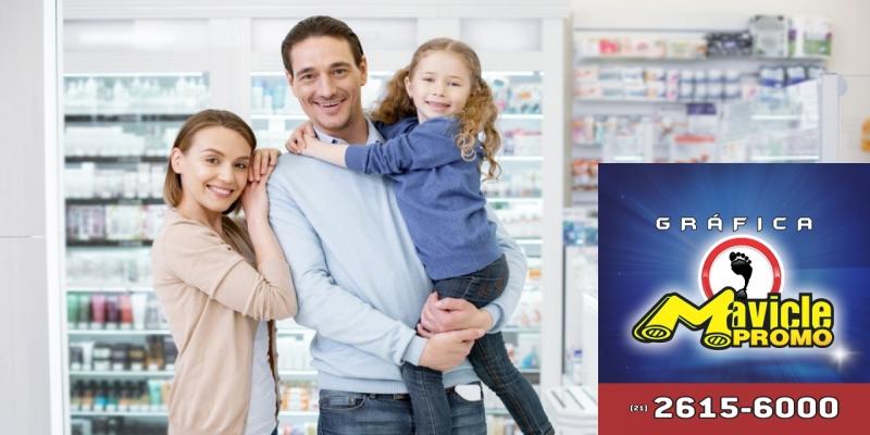 O setor farmacêutico é considerado o mais confiável para os brasileiros   Guia da Farmácia   Imã de geladeira e Gráfica Mavicle Promo