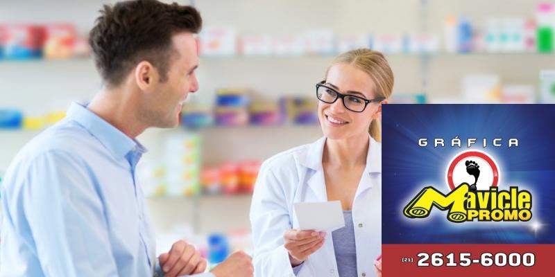 Drogarias Farmaxx oferece serviços no Consultório Farmacêutico   Guia da Farmácia   Imã de geladeira e Gráfica Mavicle Promo