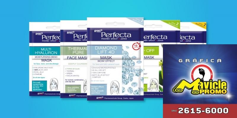 f3b3f5a9808 Máscaras faciais renovam a pele Guia da Farmácia Imã de geladeira e Gráfica Mavicle  Promo