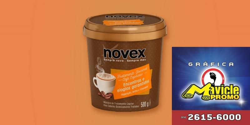 Embelleze lança o novo Novex Café Expresso Máscara de Tratamento   Guia da Farmácia   Imã de geladeira e Gráfica Mavicle Promo