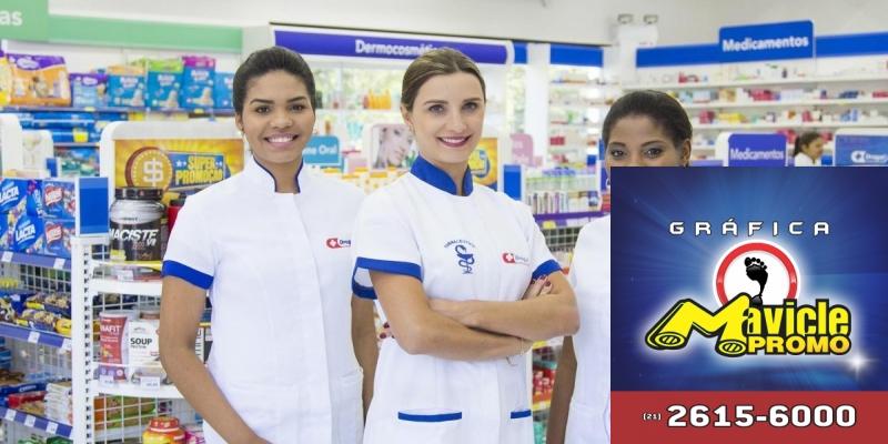 Expansão da Rede Drogal chega em vila velha   Guia da Farmácia   Imã de geladeira e Gráfica Mavicle Promo