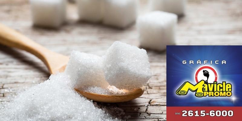 Brasil assume a meta para a redução de açúcar   Guia da Farmácia   Imã de geladeira e Gráfica Mavicle Promo