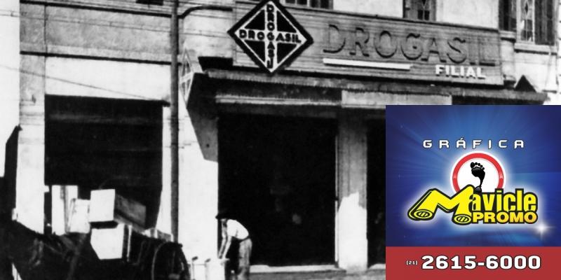 Drogasil lança museu da farmácia   Guia da Farmácia   Imã de geladeira e Gráfica Mavicle Promo