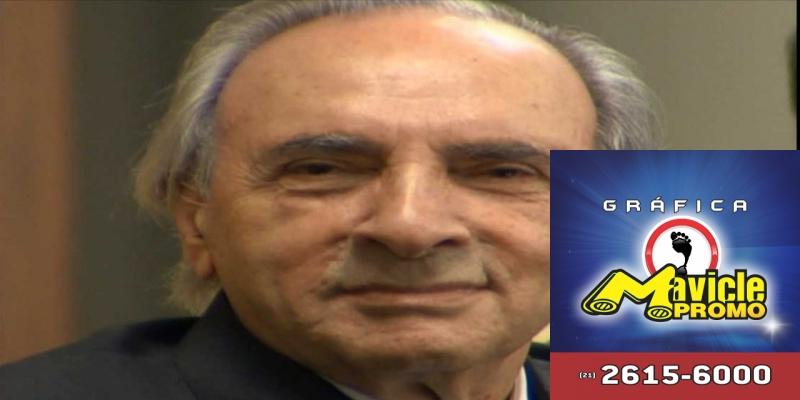 O empresário Ueze Zahran faleceu aos 94 anos em São Paulo. — Foto: TV Morena/Reprodução