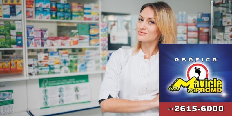 A facturação das farmácias cresce 11,76% e atinge R$ 120,3 bi no País   Imã de geladeira e Gráfica Mavicle Promo