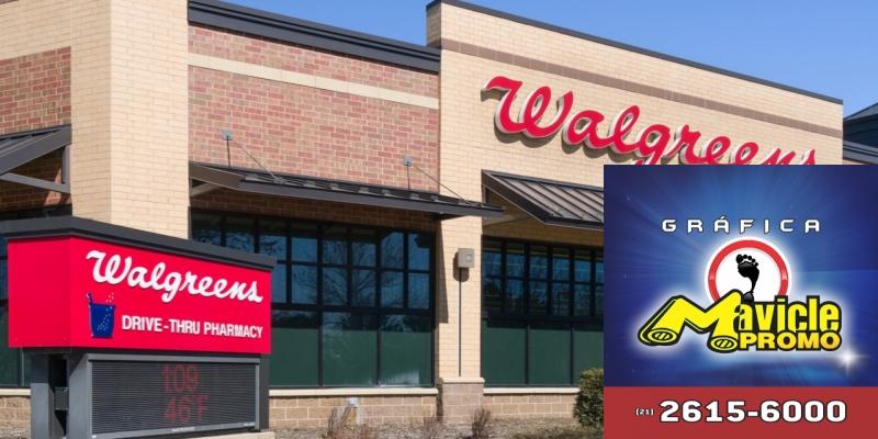 7f3236425ae Google e Walgreens se unem para projetos na área da saúde Imã de geladeira  e Gráfica