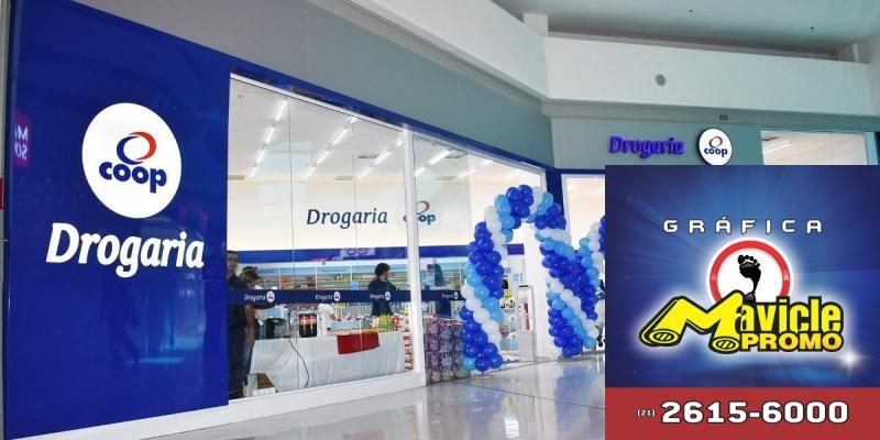 Coop investe r$ 600 mil na primeira farmácia dentro de shopping   Imã de geladeira e Gráfica Mavicle Promo