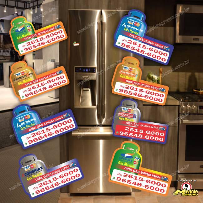 Resultado comprovado que temos conseguido com os nossos clientes revendas de gás e Drogarias com o ímã de geladeira   Imã de geladeira e Gráfica Mavicle Promo